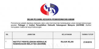 Institut Penyelidikan Hidraulik Kebangsaan Malaysia (NAHRIM)