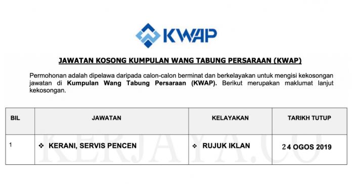 Kumpulan Wang Persaraan (KWAP)