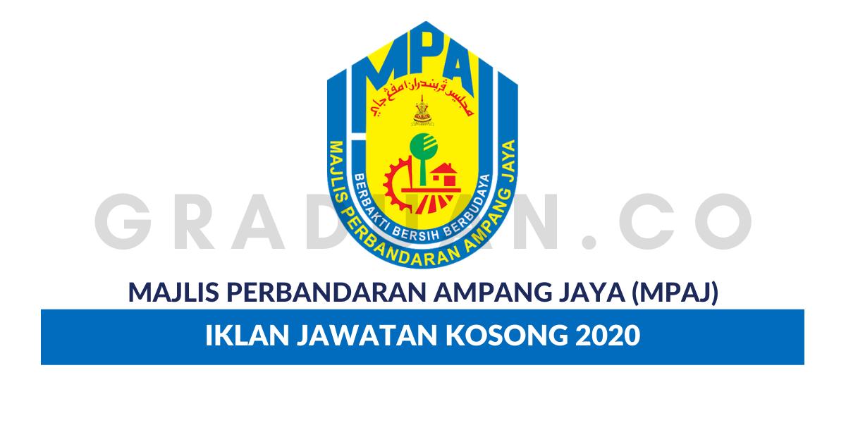 Permohonan Jawatan Kosong Majlis Perbandaran Ampang Jaya ...
