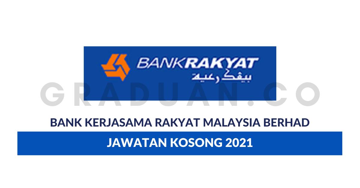 Permohonan Jawatan Kosong Bank Kerjasama Rakyat Malaysia ...