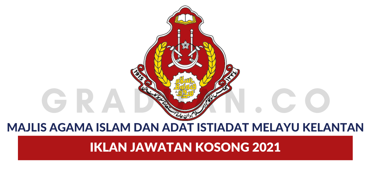Permohonan Jawatan Kosong Majlis Agama Islam Dan Adat ...